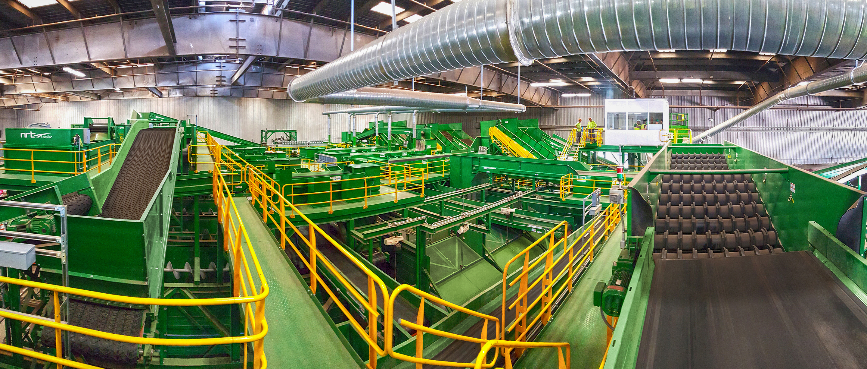 Single Stream Recycling Bulk Handling Systems