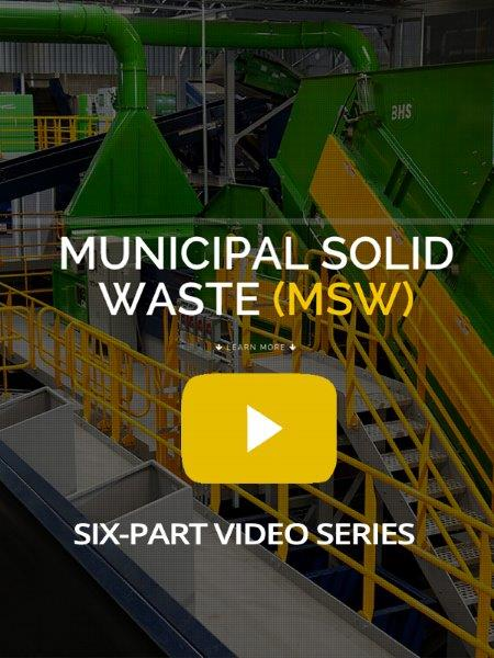 MSW Recycling Video Series