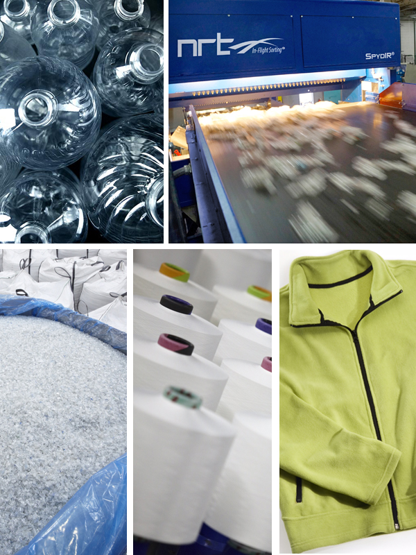 Unifi Chooses BHS, NRT Repreve Plastics Recycling