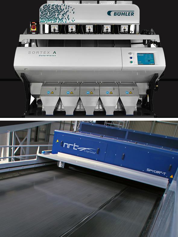 NRT Buhler Sortex Recycling
