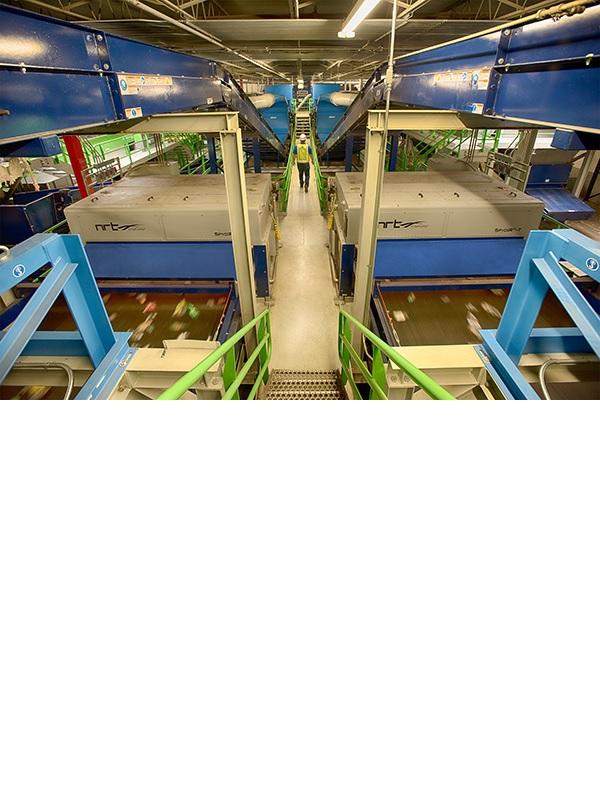 Plastics Recycling Facility Unifi PRF NRT BHS